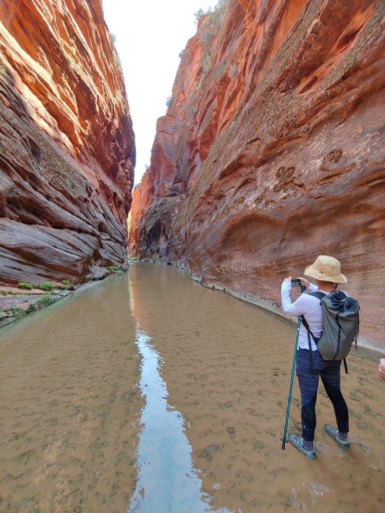 The best Zion Park Hikes are often found just outside of the parks boundaries
