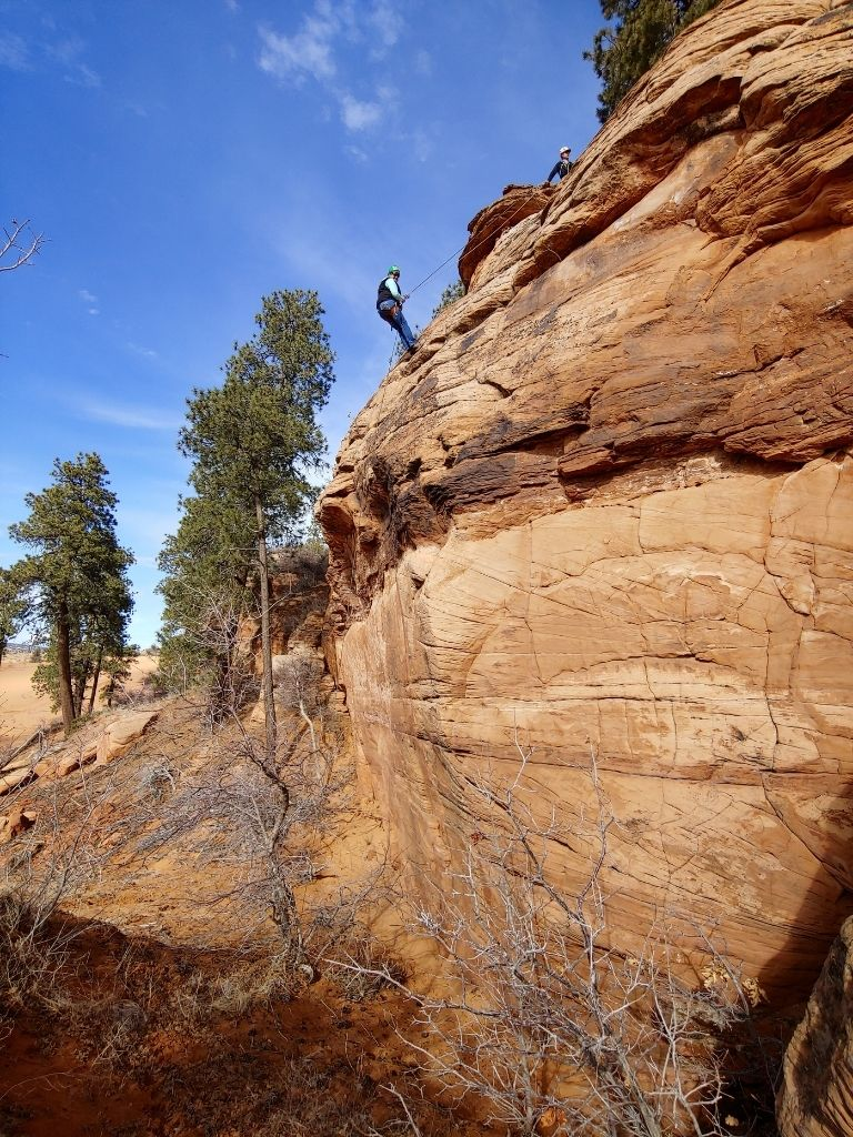 Top Things To Do At Coral Pink Sand Dunes Park Rappelling With All Ways Adventure