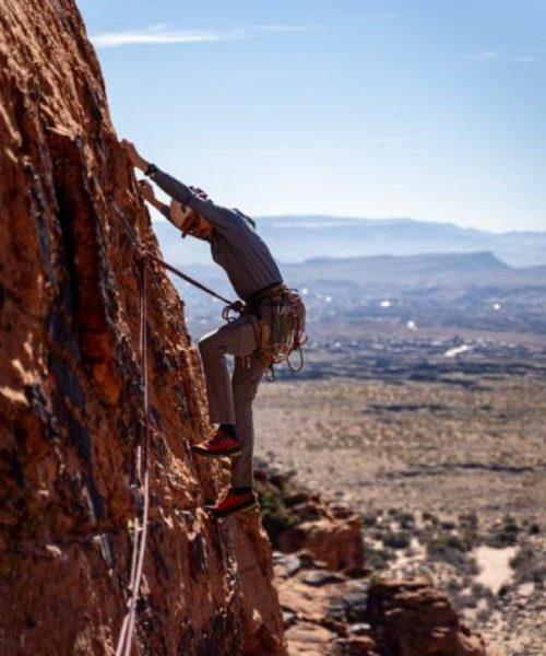 High Adventure Rock Climbing Trips in Southern Utah